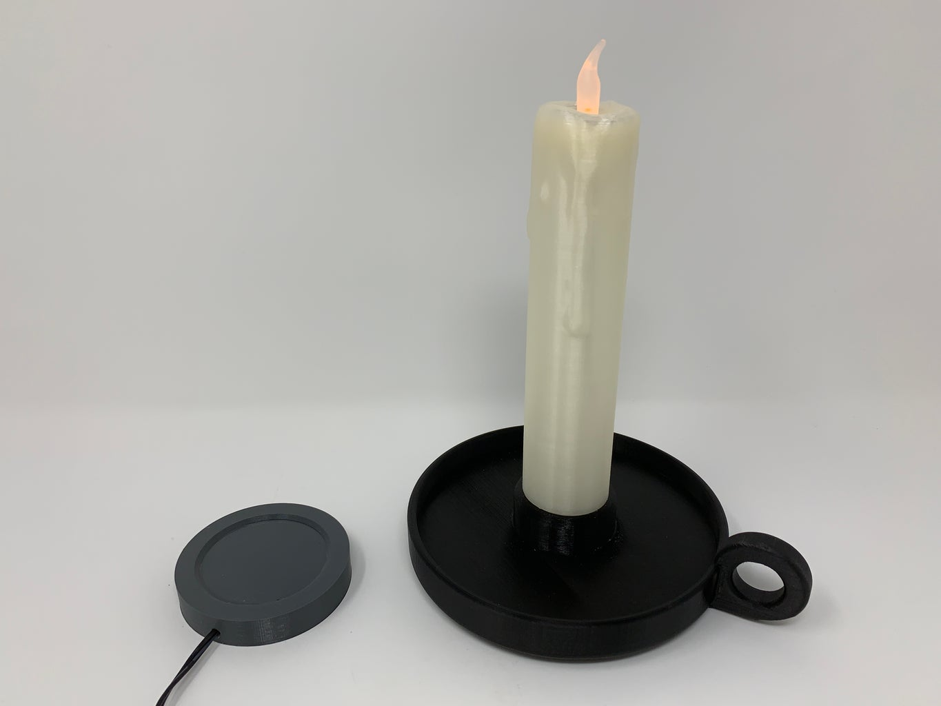 Test and Final Candle Assembly.