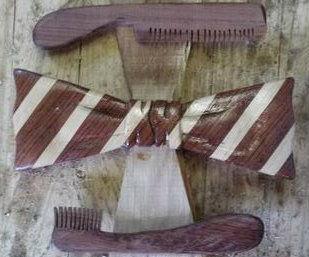 multi-wood bowtie