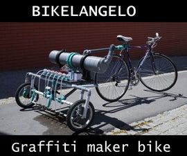 Bikelangelo: the Graffiti Maker Bike
