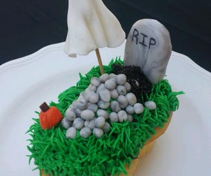 Haunted Grave Cupcakes