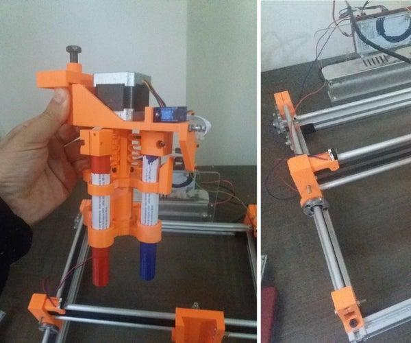 Multi Color Dot Printer