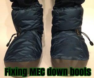 Fixing MEC Down Booties