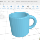 Make a Mug in SelfCAD