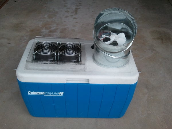 Keep Me Cool Portable Air Conditioning Cooler 120V