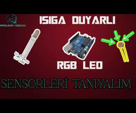Light Dependent RGB Controll With Arduino and LDR