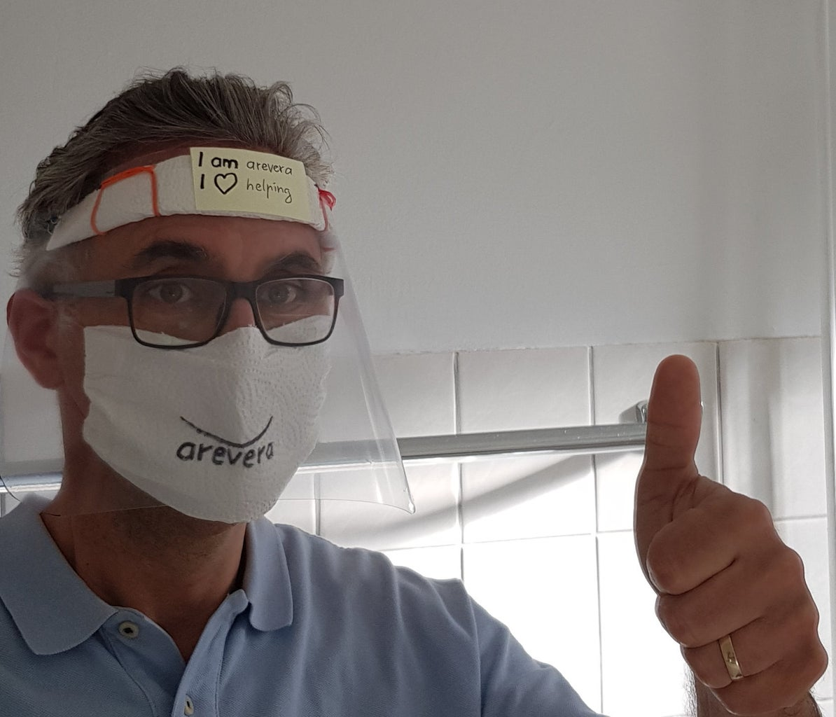UPDATED MacGyver Style Pandemic Face Shield: Fast + Easy