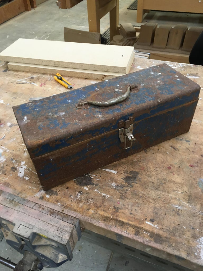 Fixing a Rusted Toolbox
