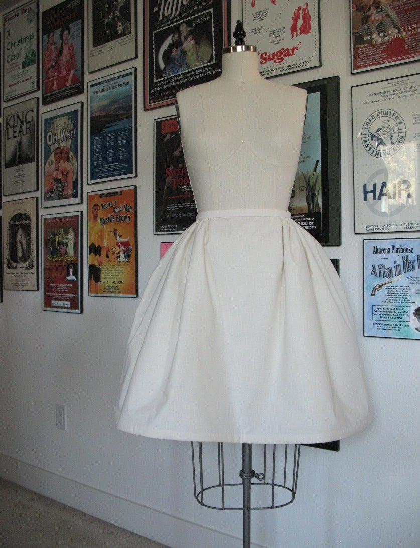 Time to Enjoy Your New Petticoat!
