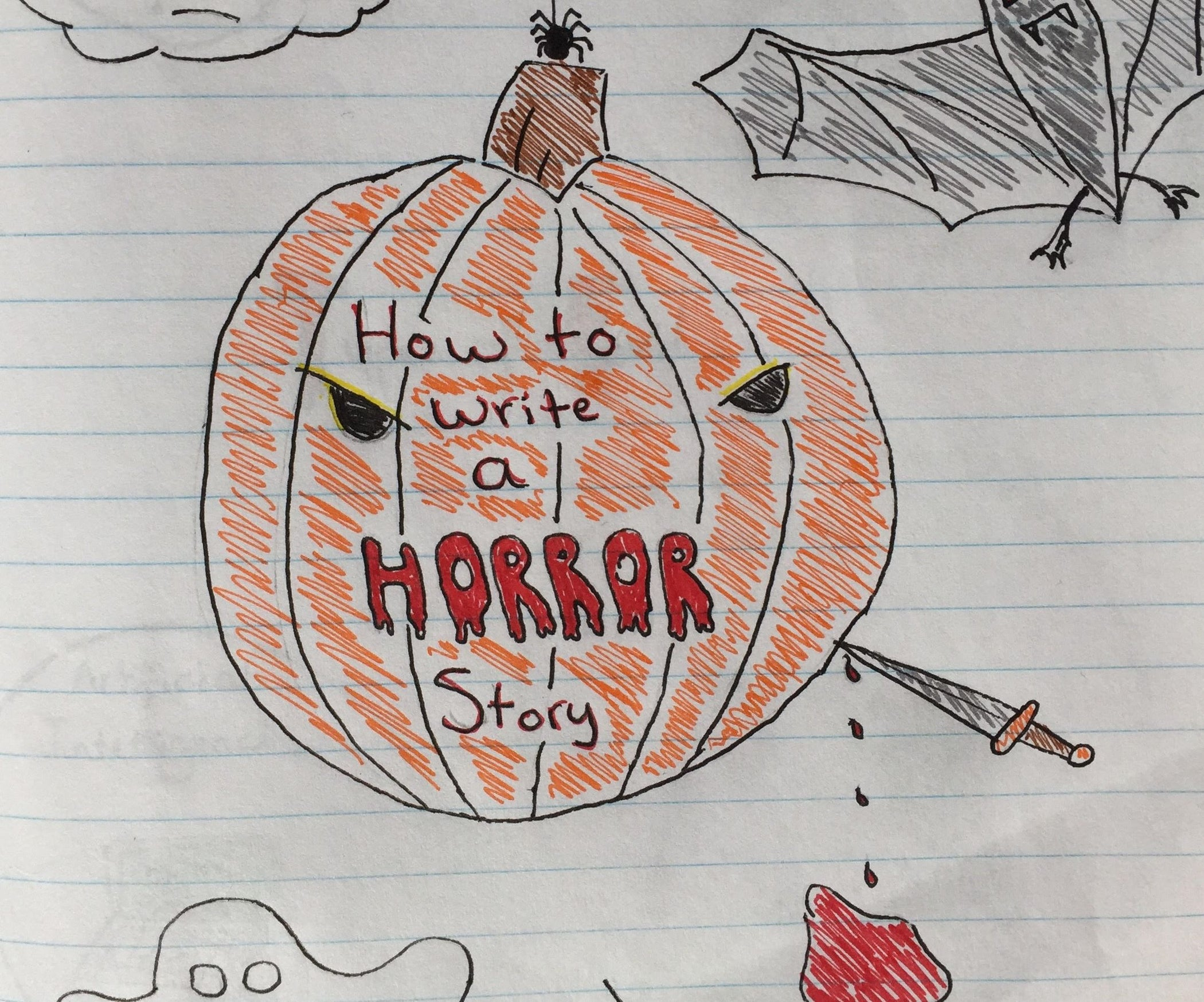 how to write a horror story  11 steps with pictures