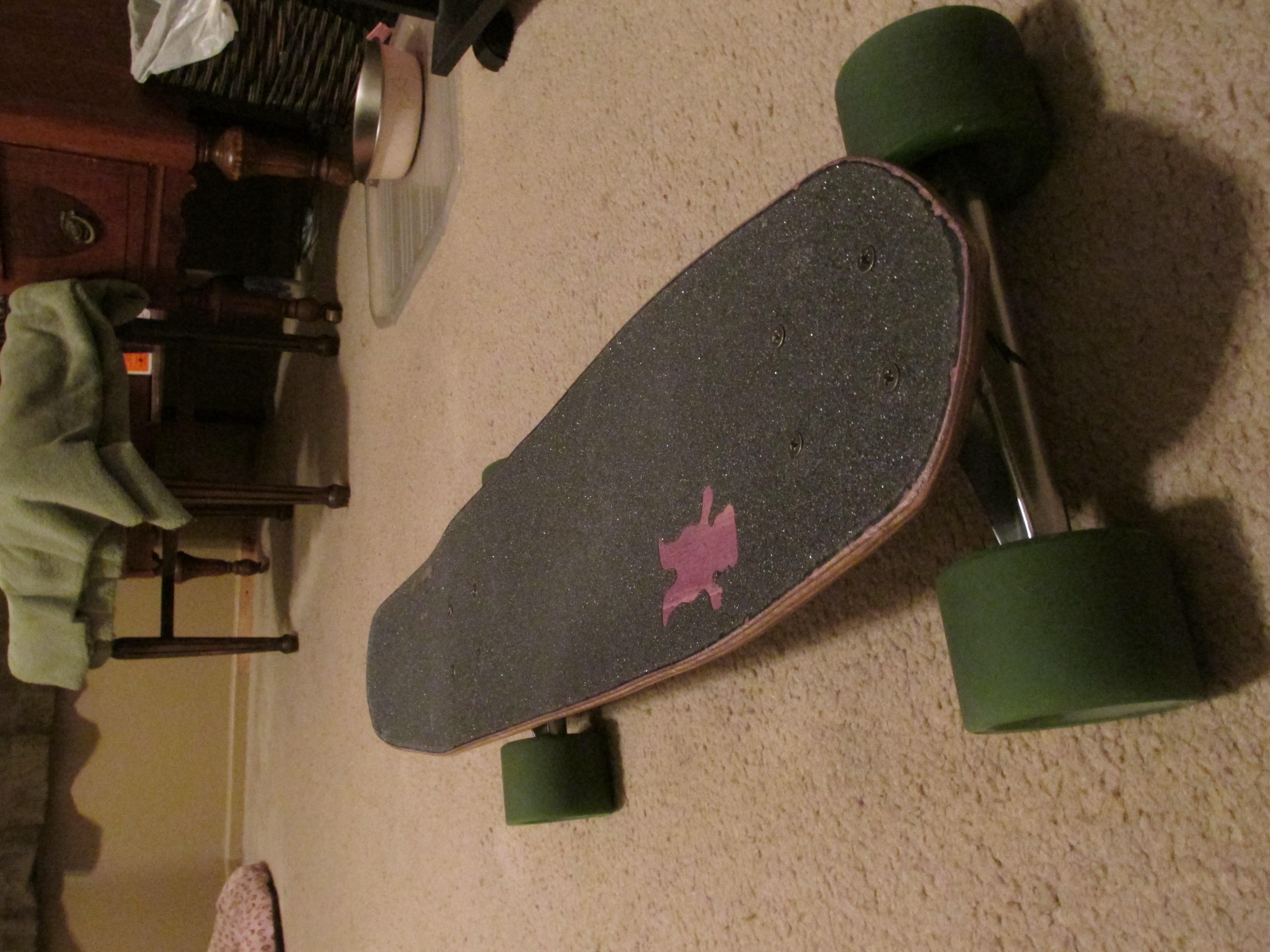 Recycled Cruising Skateboard
