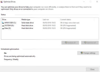 Defragmenting Your Hard Drive and Virtual RAM
