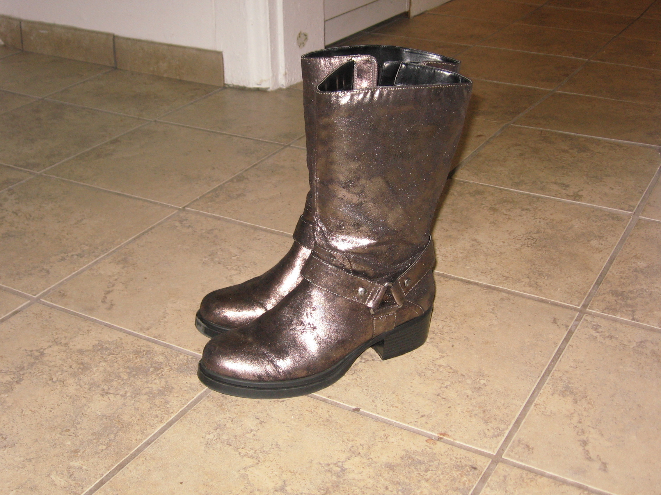 Adding Traction to Boots