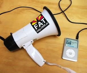 Megaphone Audio Input