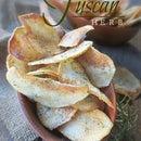 Homemade Tuscan Herb Gourmet Potato Chips