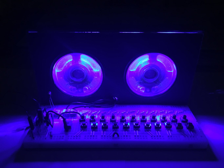 Quad Speaker Synthesizer