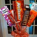 Valentine's Candy Bouquet