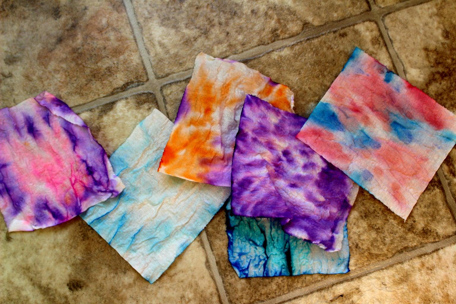 Tie-Dye Tissue