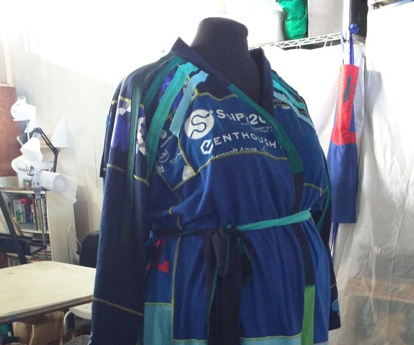 T-Shirt Kimono Robe