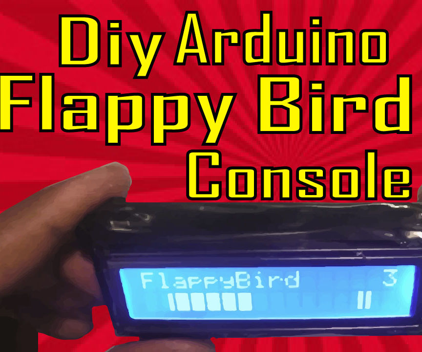 How to make Flappy Birds console   Arduino Project # 2
