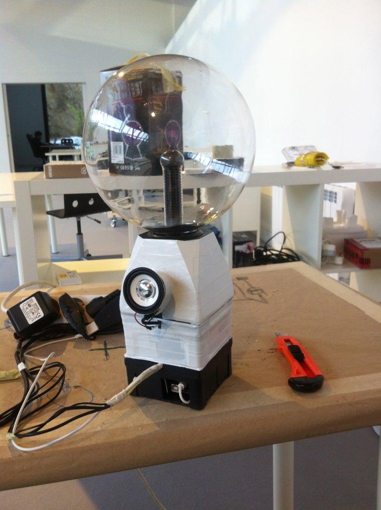 Interactive Plasma Ball