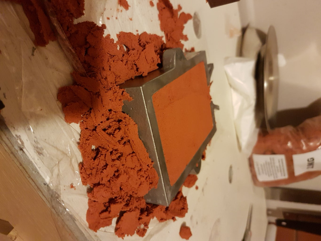 Making the Mould