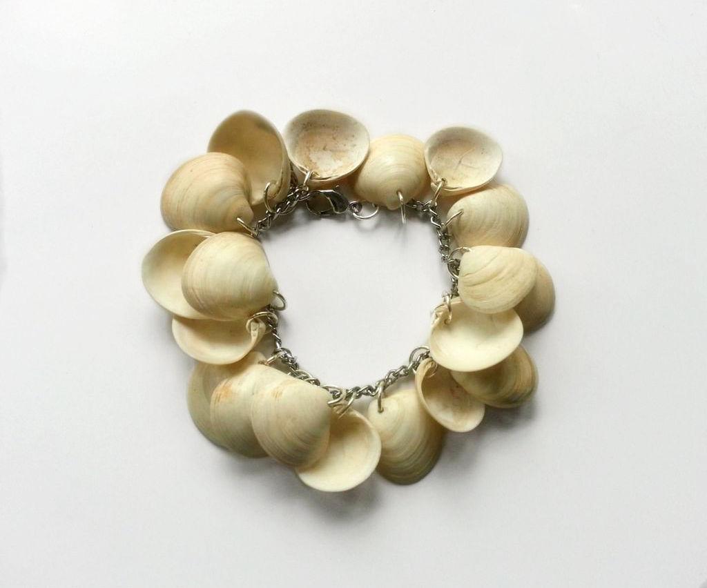 DIY Sea Shell Bracelet