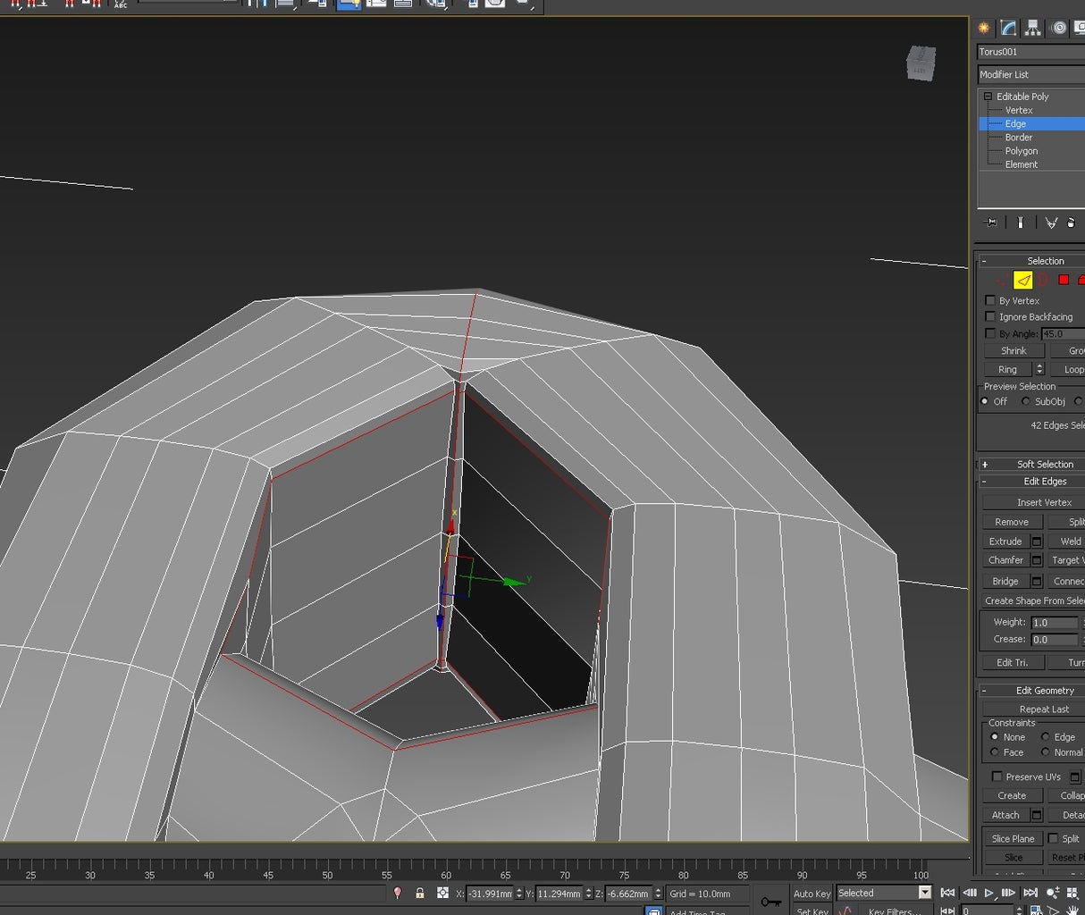 3d Modeling: Creating the Basic Pattern - Adding the Ends