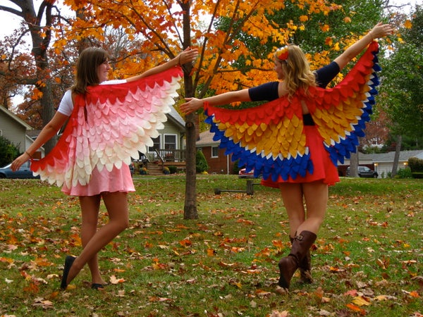 NattyJane's Birds of a Feather Costume Tutorial