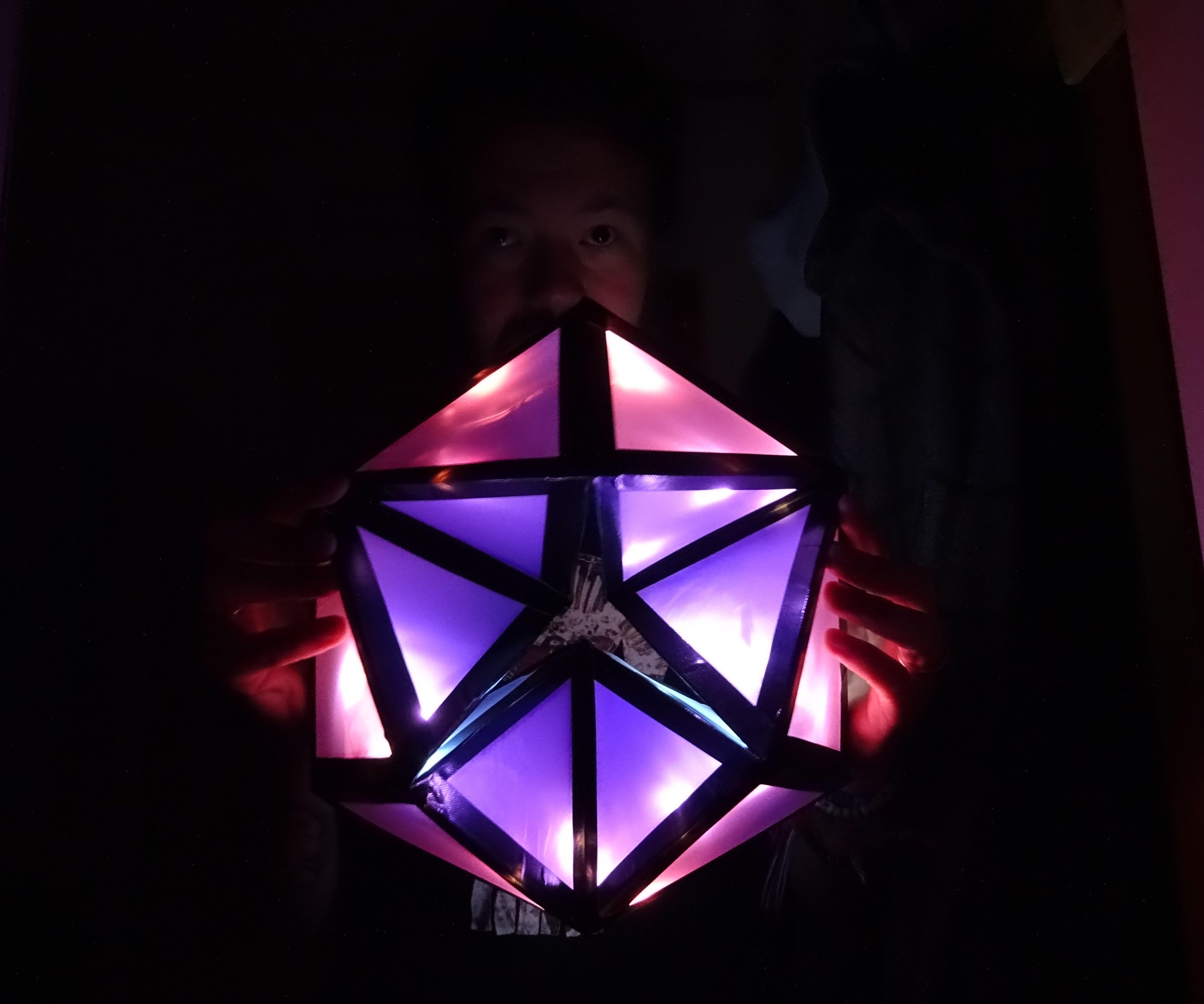 Large Light Up Flexagon