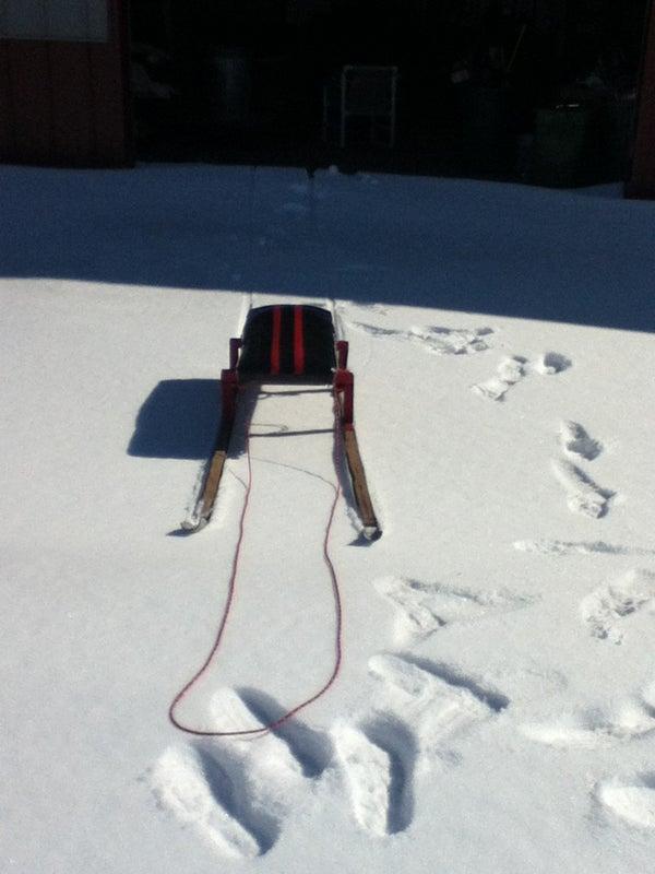 Long Ski Sled