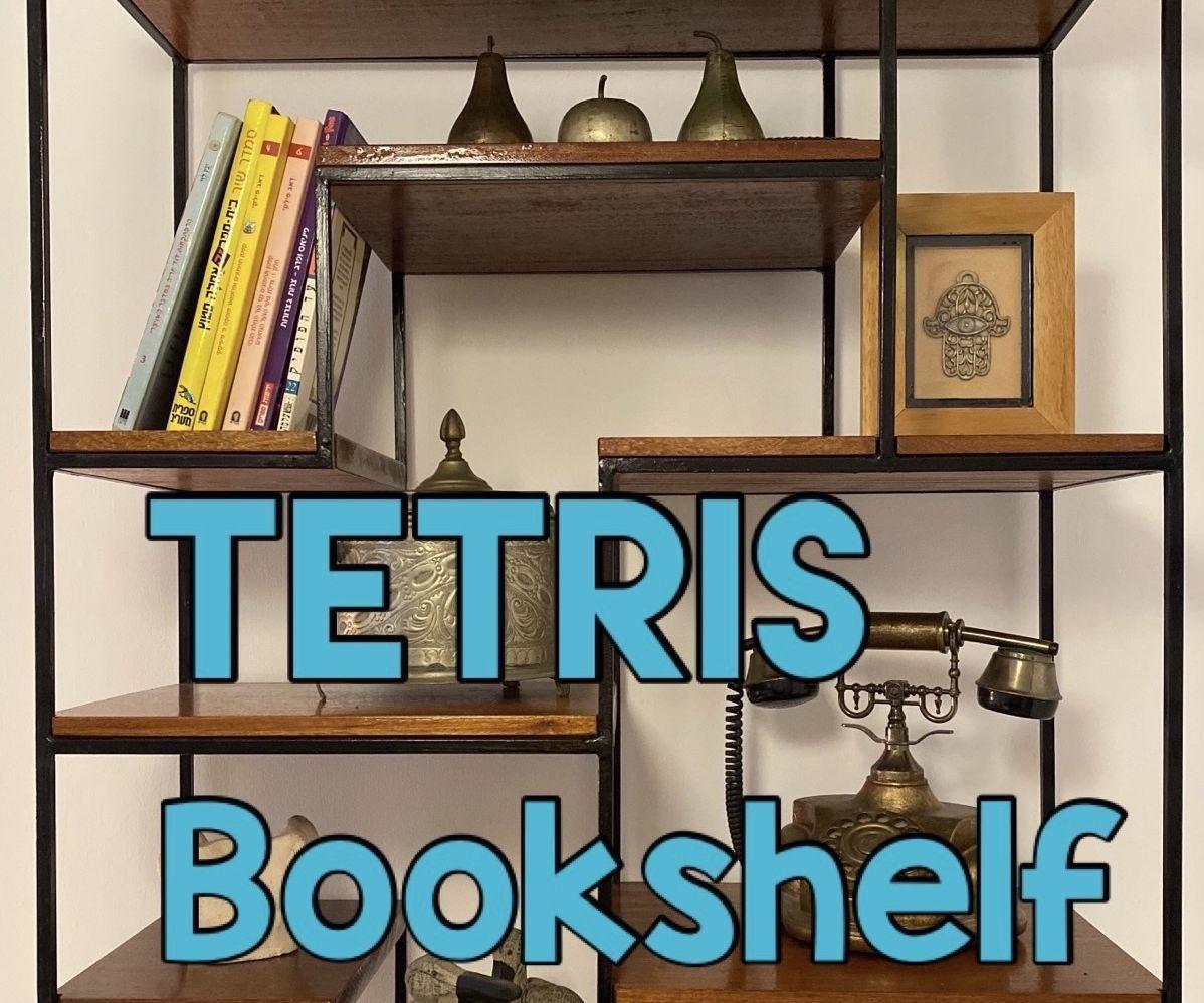 My Tetris Bookshelf