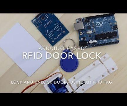 RFID Door Locking Mechanism With an Arduino