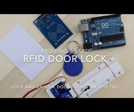 RFID Door Locking Mechanism With an Arduino