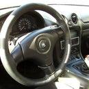 2$ Steering Wheel Upholstery