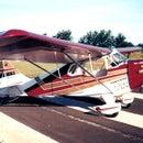 Aviao experimental feito em casa (home-made experimental plane)