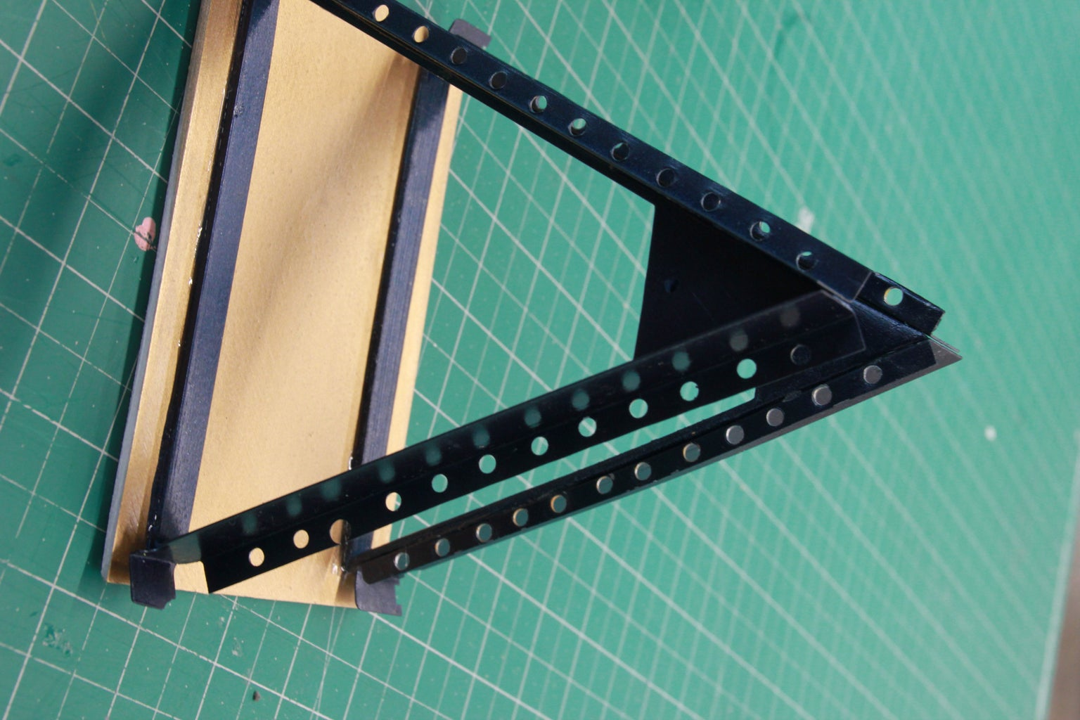 Building: Cutting and Drilling the A-frame