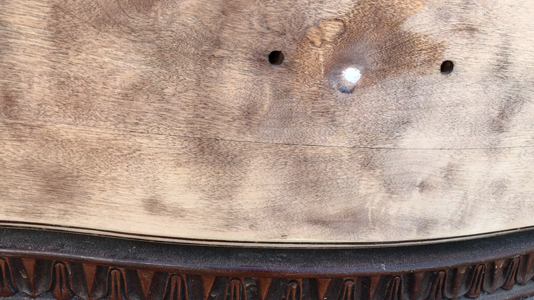 Fill the Extra Holes With Wood Putty