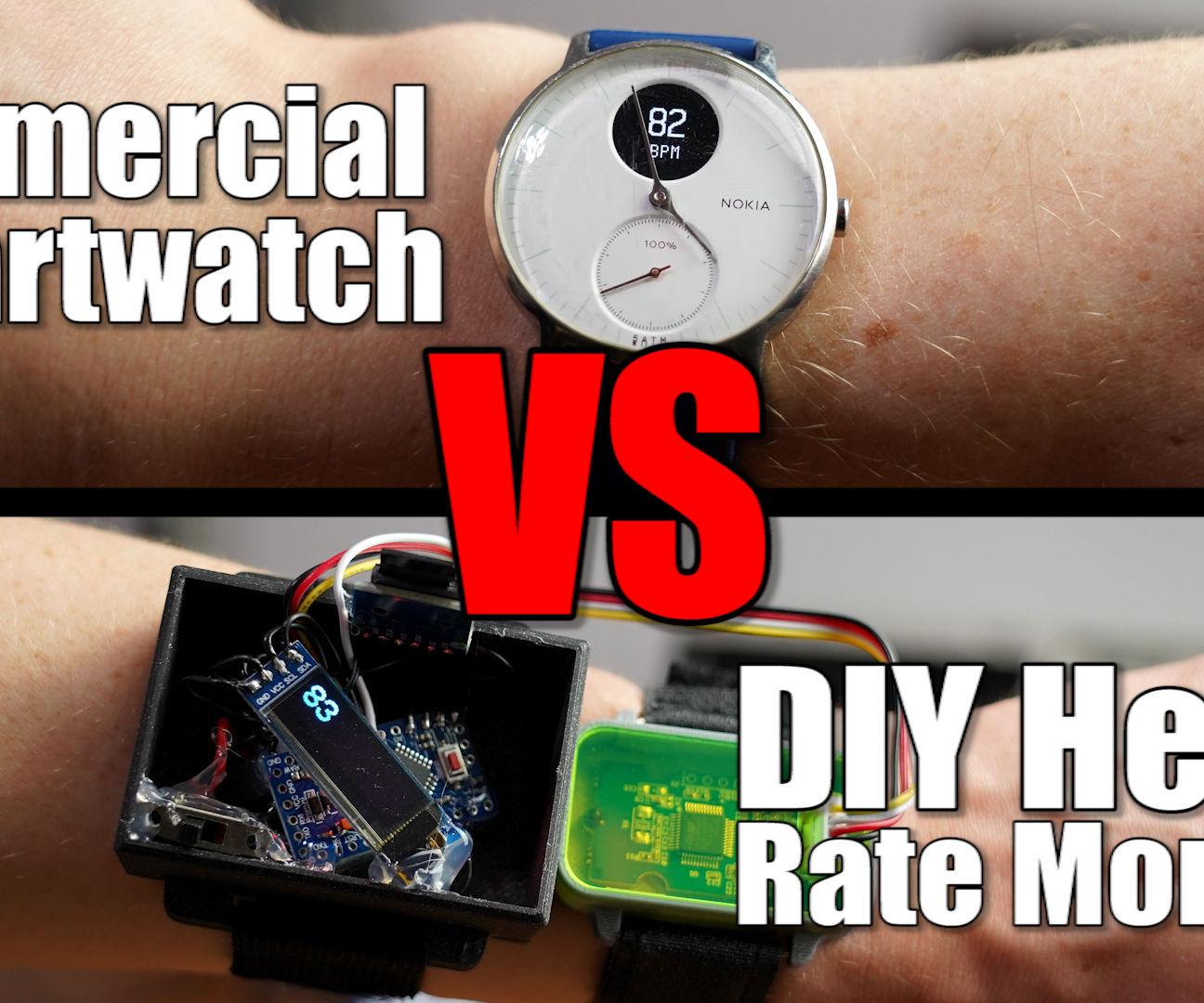 DIY Heart Rate Monitor (logger)