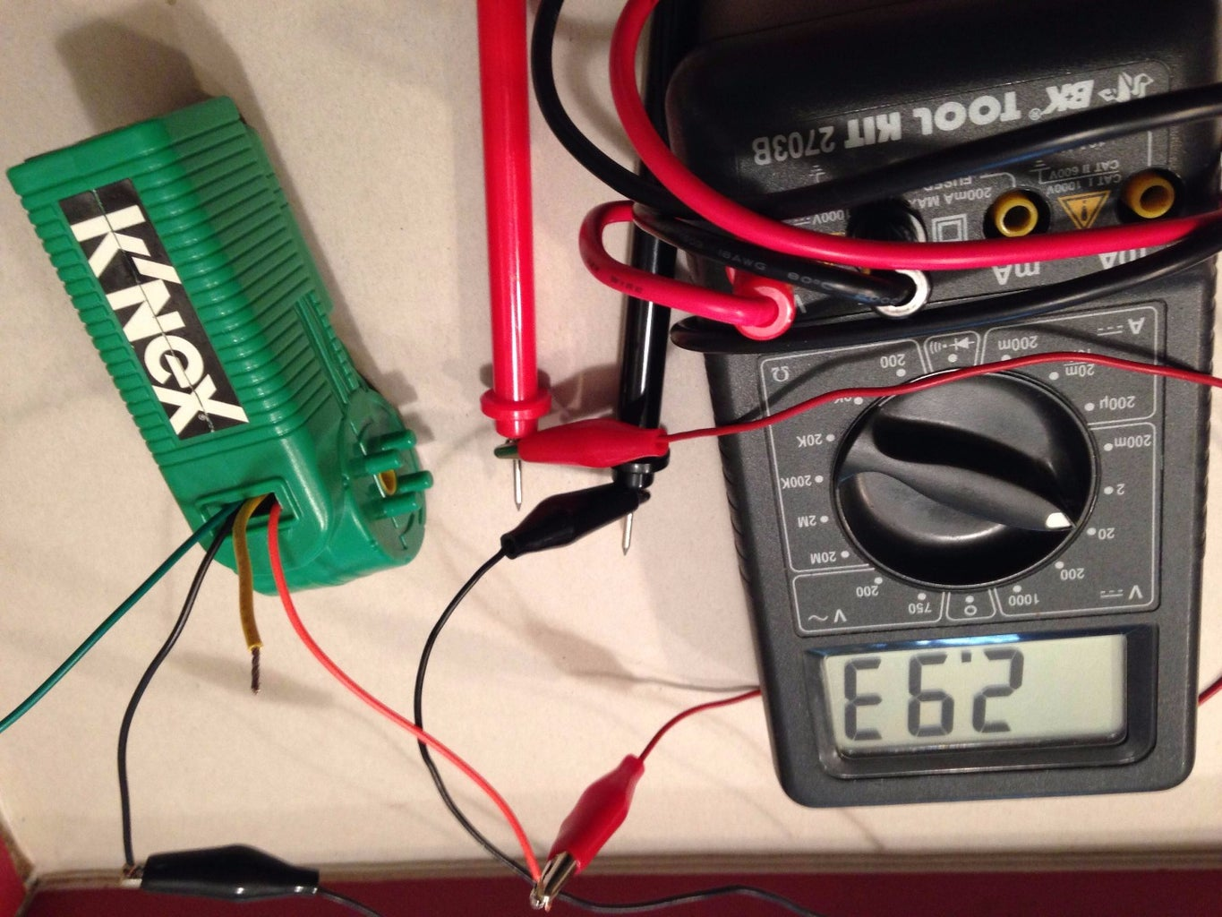 Test Your Wiring
