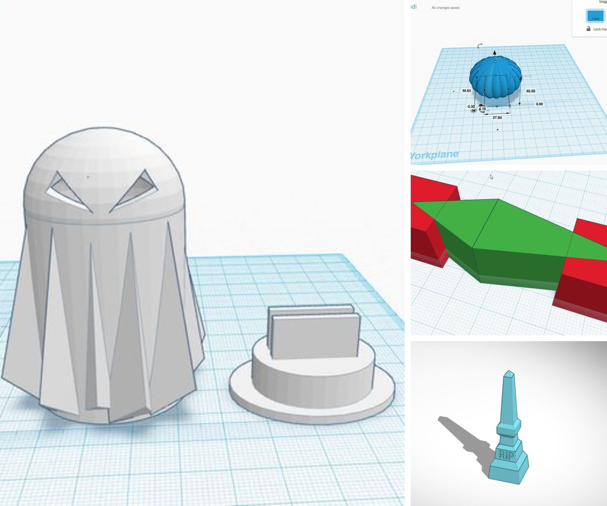 3D Printing Halloween Projects