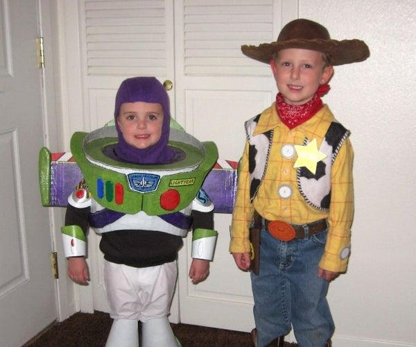 Buzz Lightyear and Woody Costumes