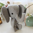 Hand-Sewn Mini Elephant Plush