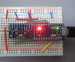 MPU-9150/9250 IMU With Arduino Pro-Micro