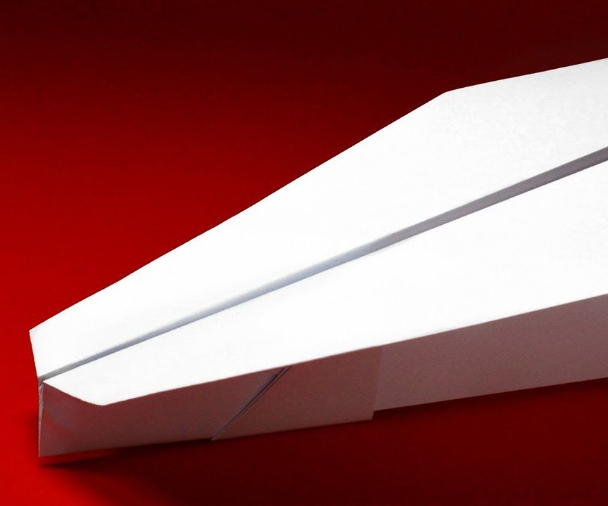 How to Make a Simple Paper Plane That Flies Well (The Soldier)
