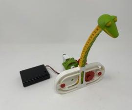 一个3d印刷的蛇自动机。