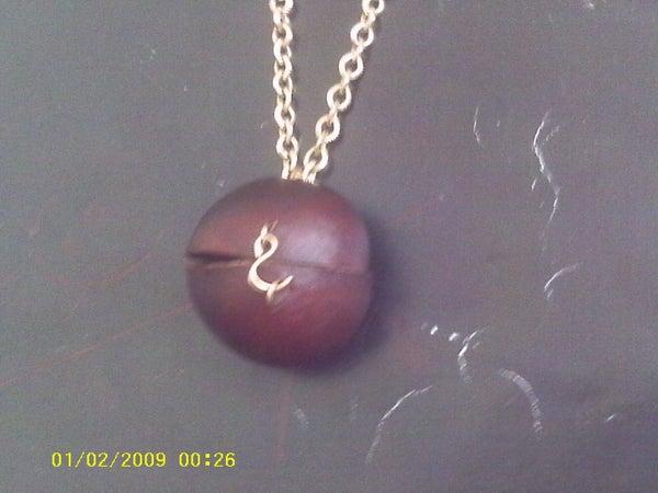 Buckeye Box (or Necklace)