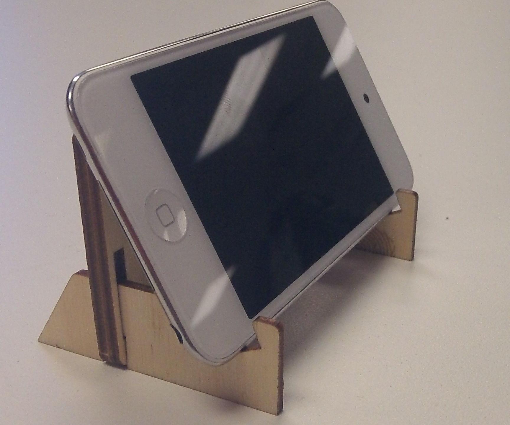 Slim phone stand
