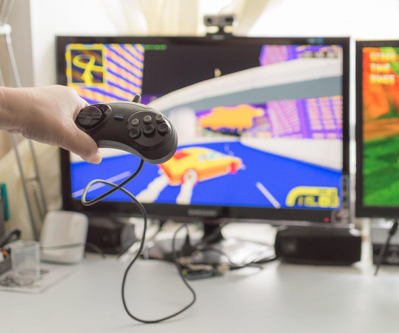 Arduino UNO + Sega Joystick = Nostalgia!