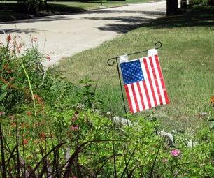 Take-away-bag Duct Tape Flag