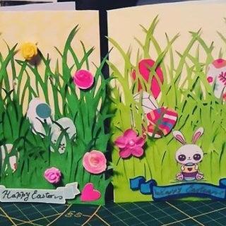 Hidden Easter Eggs Card